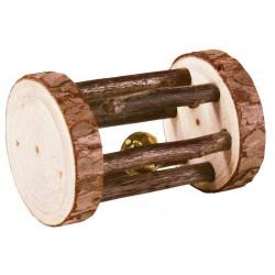 TRIXIE Zabawka dla gryzoni: Rolka, drewno , 7×5 cm [TX-61654]