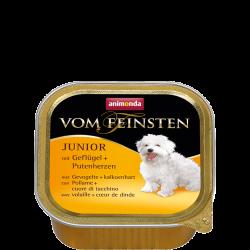 ANIMONDA Vom Feinsten Junior szalki z drobiem i sercem indyka 150 g