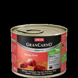 ANIMONDA GranCarno Sensitive Adult puszki czysta wołowina 200 g