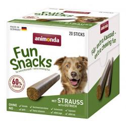 ANIMONDA Przysmak pałeczki Fun Snacks ze Strusiem (20 sztuk)