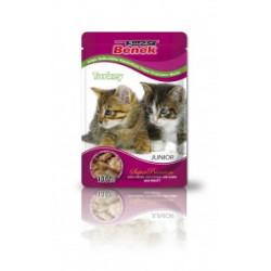 SUPER BENEK Saszetka dla kota z kawałkami indyka w sosie - Super Premium 100g