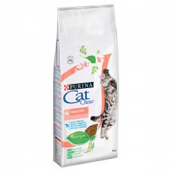 PURINA CAT CHOW SPECIAL CARE Sensitive Bogata w łososia 15kg
