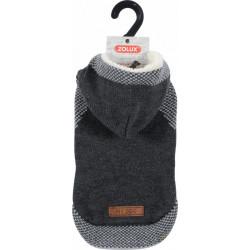 ZOLUX Sweterek z kapturem Hipster S40 szary [411458GRI]