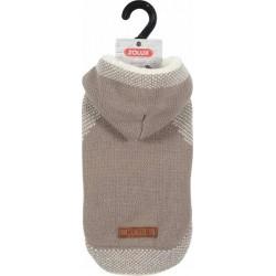 ZOLUX Sweterek z kapturem Hipster S35 beżowy [411457BEI]