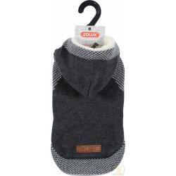 ZOLUX Sweterek z kapturem Hipster S25 szary [411455GRI]