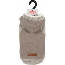 ZOLUX Sweterek z kapturem Hipster S30 beżowy [411456BEI]