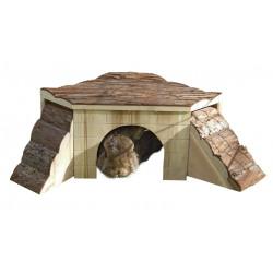 KERBL Domek dla gryzoni, 37 x 37 x 16 cm [82771]