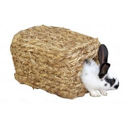 KERBL Domek z trawy, 28 x 18 x 15 cm [84053]