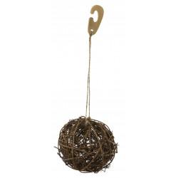 KERBL Piłka z wikliny, 9 cm [81767]