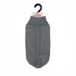 ZOLUX Sweterek Allure z golfem S40 szary [411462GRI]
