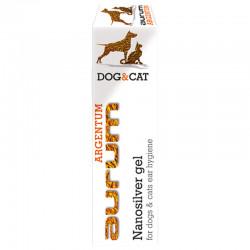 AURUM ARGENTUM - Żel z nanosrebrem do higieny uszu psów i kotów 30ml.