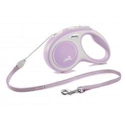 FLEXI NEW COMFORT - smycz automatyczna dla psa, różowa M 5m LINKA [FL-2908]