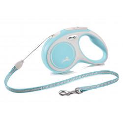 FLEXI NEW COMFORT - smycz automatyczna dla psa, jasnoniebieska M 5m LINKA [FL-2915]