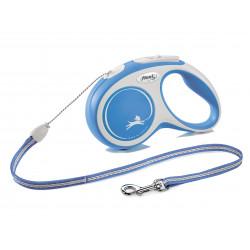 FLEXI NEW COMFORT - smycz automatyczna dla psa, niebieska S 5m LINKA [FL-2830]