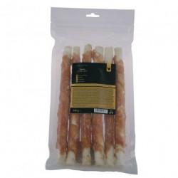 FITMIN FFL dog treat rawhide stick 28cm with chicken 500g