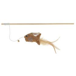 KERBL Wędka dla kota z rybką, 40 cm [81674]