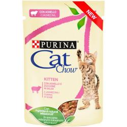 PURINA CAT CHOW KITTEN GiJ Jagnięcina Cukinia 85g