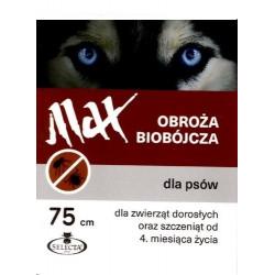 SELECTA Obroża biobójcza Max 75 cm czerwona
