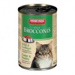 ANIMONDA Brocconis Cat puszka z dziczyzną i drobiem 400 g