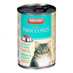 ANIMONDA Brocconis Cat puszka z rybą i kurczakiem 400 g