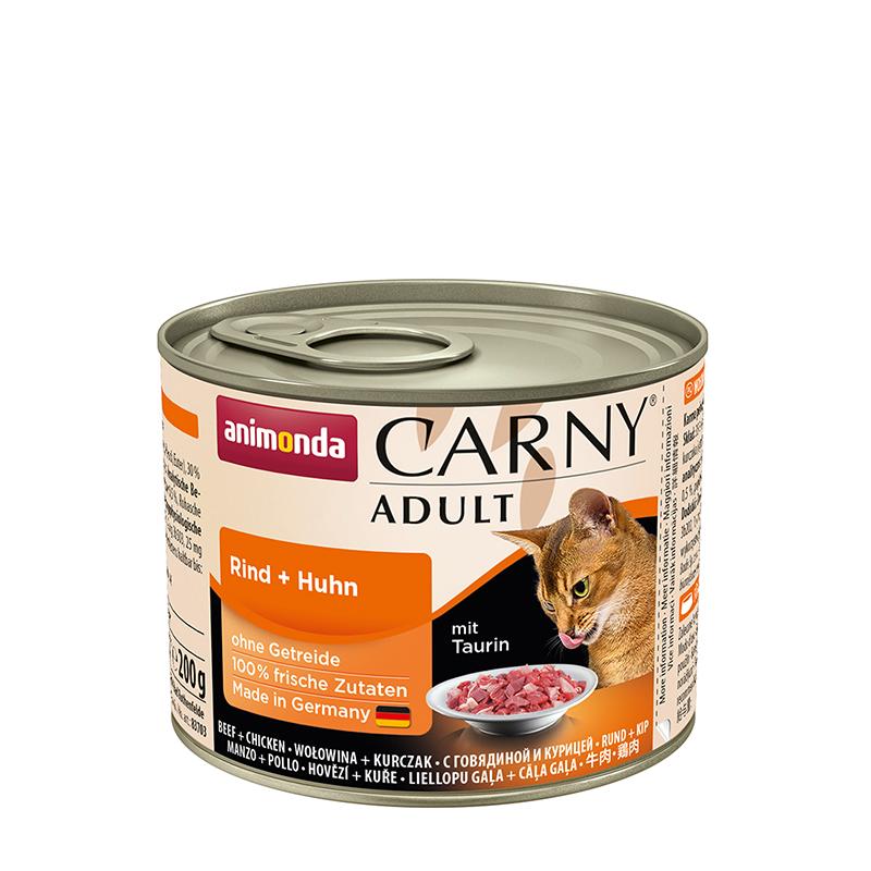 ANIMONDA Carny Adult puszka wołowina i kurczak 200 g