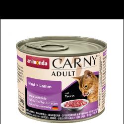 ANIMONDA Carny Adult puszka wołowina i jagnięcina 200 g