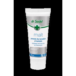 DR SEIDEL MALT PASTA zapobiega tworzeniu się kul włosowych 75 ml