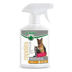 DR SEIDEL REPELEX PLUS utrzymuje psy i koty z daleka 300 ml