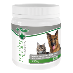 DR SEIDEL REPELEX GARDEN utrzymuje psy i koty z daleka 250 g