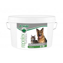 DR SEIDEL REPELEX GARDEN utrzymuje psy i koty z daleka 1 kg