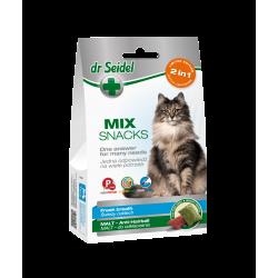 DR SEIDEL SMAKOŁYKI MIX 2w1 na świeży oddech & malt dla kotów 60 g