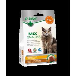 DR SEIDEL SMAKOŁYKI MIX 2w1 na piękną sierść & malt dla kotów 60 g