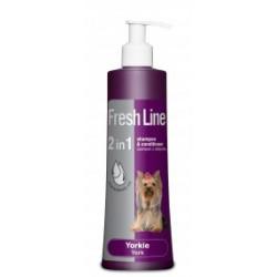 FRESH LINE szampon z odżywką dla psów rasy York  220 ml