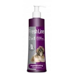FRESH LINE szampon z odżywką regenerujacy  220 ml