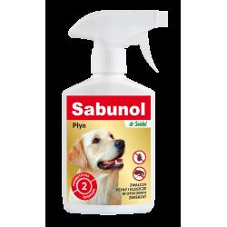 SABUNOL płyn do zwalczania pcheł w otoczeniu zwierząt 250 ml