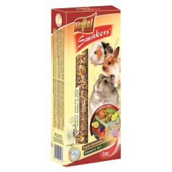VITAPOL SMAKERS DLA GRYZONI-MIX 2 owoce leśne/popcorn/orzechowa [ZVP-1113] 135g