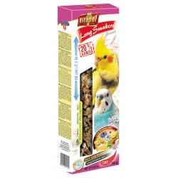VITAPOL Smakers Long mix 3 smaki owoce tropikalne/z czarnuszką/jajeczno-miodowy dla papużki falistej i nimfy [ZVP-2220] 155g