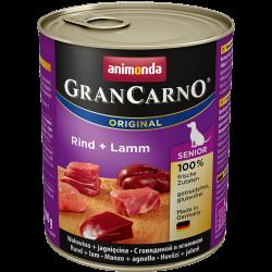 ANIMONDA GranCarno Orginal Senior puszki wołowina jagnięcina 800 g