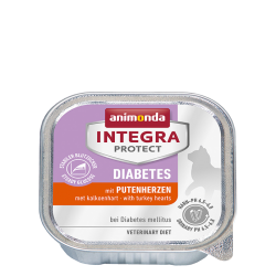 ANIMONDA INTEGRA Protect Diabetes szalki z sercami indyka 100 g