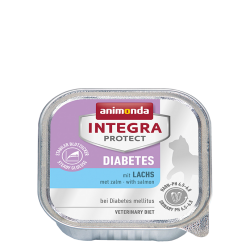 ANIMONDA INTEGRA Protect Diabetes szalki z łososiem 100 g