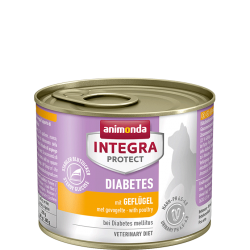 ANIMONDA INTEGRA Protect Diabetes puszki z drobiem 200 g