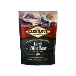CARNILOVE LAMB & WILD BOAR FOR ADULT 1,5kg