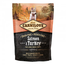 CARNILOVE SALMON & TURKEY FOR LARGE BREED PUPPIES 1,5kg