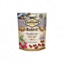 CARNILOVE CRUNCHY SNACK MACKEREL WITH RASPBERRIES WITH FRESH MEAT 200g