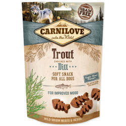 CARNILOVE SEMI MOIST SNACK TROUT ENRICHED WITH DILL 200g
