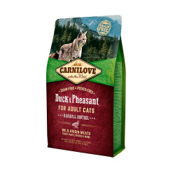 CARNILOVE CAT DUCK&PHEASANT HAIRBALL CONTROL 6kg