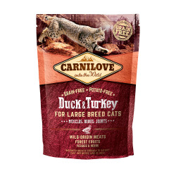 CARNILOVE CAT DUCK&TURKEY FOR LARGE BREED 400g