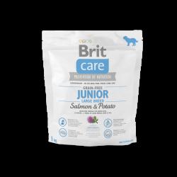 BRIT CARE GRAIN-FREE JUNIOR LARGE BREED SALMON & POTATO 1 kg