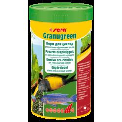 SERA Granugreen 250 ml, granulat - pokarm dla pielęgnic [SE-00392] 250 ml