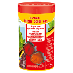 SERA Discus Color Red 100 ml, granulat - pokarm dla pielęgnic [SE-00332] 100 ml